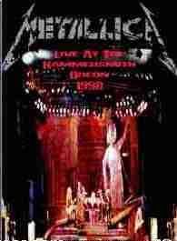 Metallica Hammersmith Odeom 1988