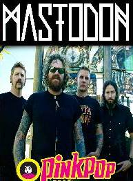 Mastodon Pink Pop Festival Holland 2014