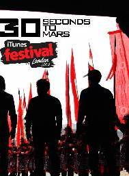30 seconds to mars itunes Festival 2014