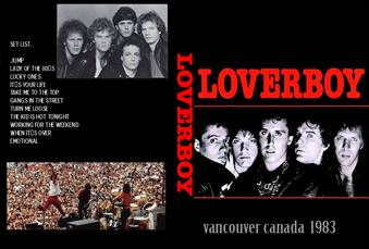 loverboy Live in Canada 1983