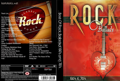 Best rock Ballads dvd
