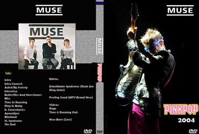Muse Pink Pop Festival 2004