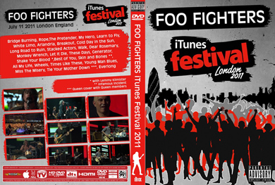 Foo fighters Itunes Festival London 2011