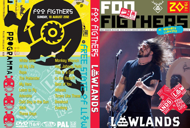 Foo fighters Lowlands Ntherlands 2012