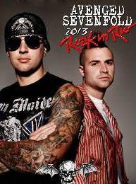 Avenged Sevenfold Rock In rio Brazil 2013