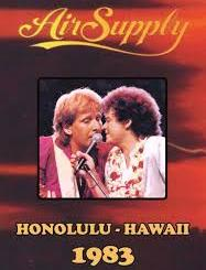 Air supply Honolulu Hawai 1983