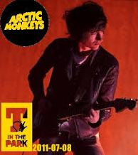 Arctic Monkeys T in the Park glasgow scotland 2011