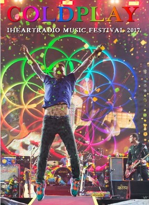 Coldplay Iheartradio Music Festival 2017