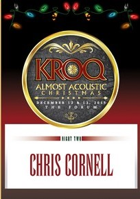 Chris cornell  Live at KROQ Almost Acoustic Christmas 2015