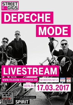 Depeche Mode Telekom Gigs Berlin 2017