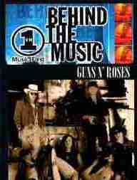 Guns N' roses Behind the Music Vh1 Documentary dvd