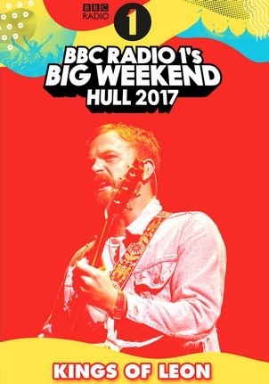 Kings Of Leon BBC Radio 1 Big Weekend U.K. 2017
