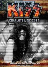 Kiss PNC Music Pavillion Charlotte NC 2014