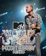 linkin park  MTV World Stage Monterrey Mexico 2012