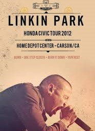 Linkin Park  Home Depot Center Carson CA. 2012