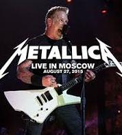 Metallica live In Moscow Russia 2015