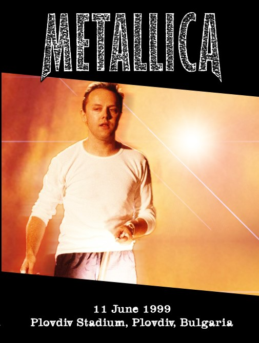 Metallica Live in Bulgaria 1999