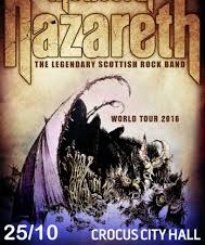 Nazareth Crocus City Hall Moscow 2016