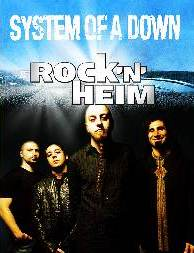 System Of A Down rock´nheim Festival 2013