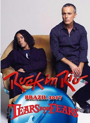 Tears For Fears Rock In Rio Brazil 2017