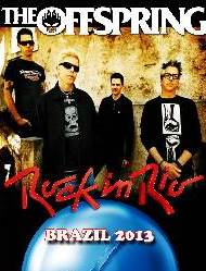 The Offspring Rock in Rio Brazil 2013