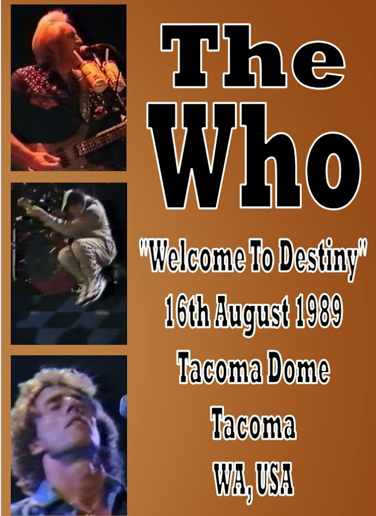 The who Live in Tacoma WA. 1989