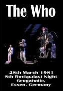 The who Rockpalast germany 1981