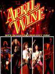 April wine MTV concert 1982