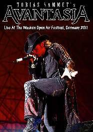 Avantasia Live At The Wacken Open Air Festival, Germany 2011+ Blind Guardian DVD