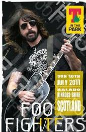 Foo fighters T In the Park, Scottland 2011