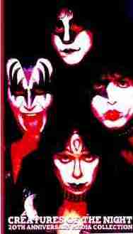 Kiss Creatures of the night 1982 Dvds