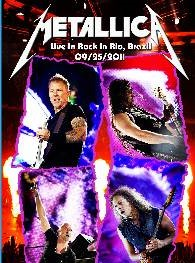 Metallica rock In rio Brazil 2011