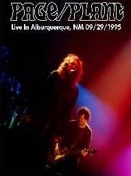 JimmyPage & Robert Plant Albuquerque NM 1995