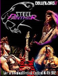 steel panther Download Festival 2012