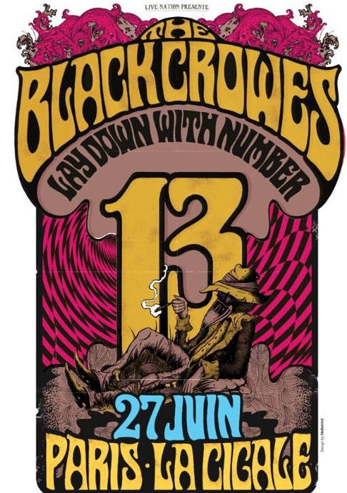 The Black Crowes  La Ciogale, [Paris France 2013