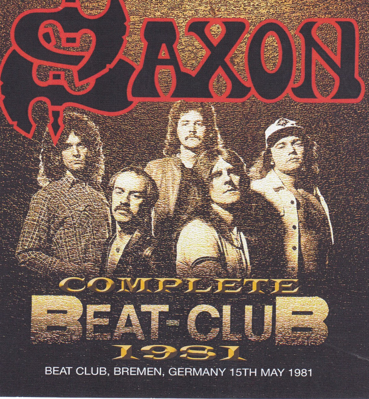 Saxon Live At The Beatclub, Btemen Germany 1981 DVD